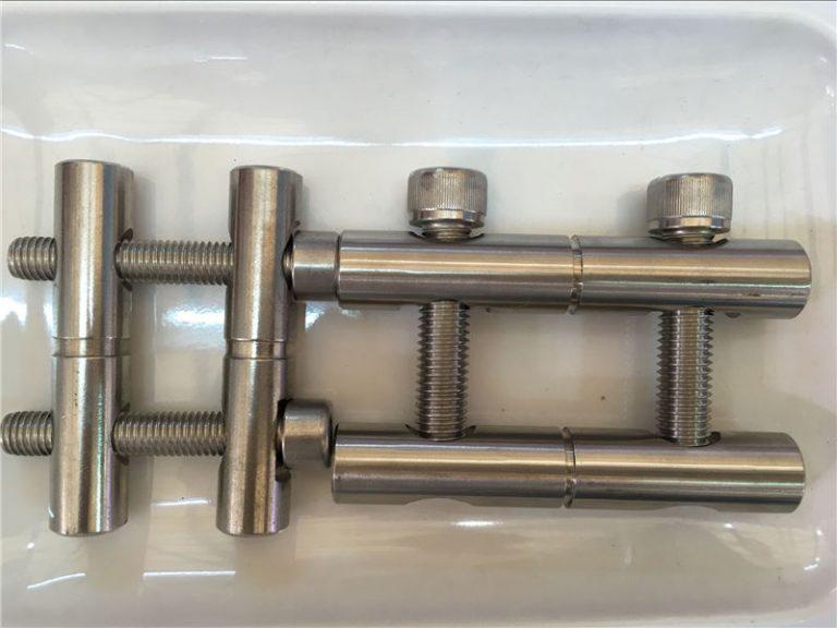 ansi 316ti / bg 1.4571, 317l / b 1.4438 серия от части от неръждаема стомана, свързваща пръчка