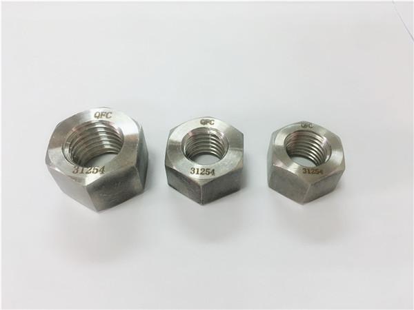 gh2132 / a286 крепежни елементи от неръждаема стомана тежки шестостенни гайки m6-m64