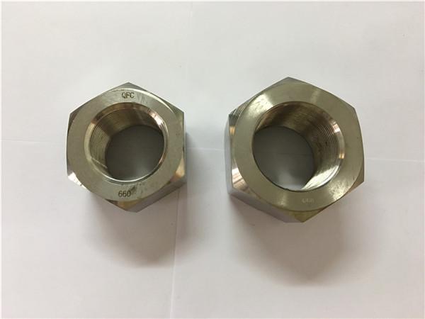 производство на никелова сплав a453 660 1.4980 шестнадесет гайки