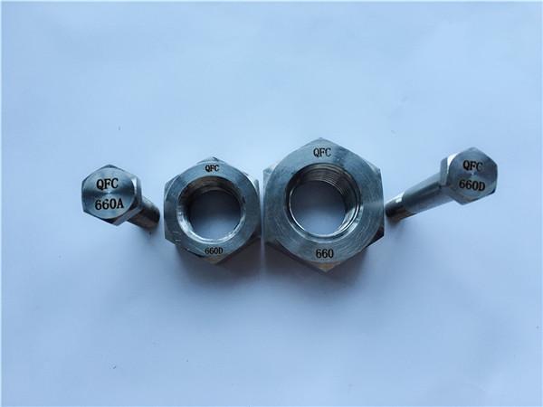 никелова сплав c22 bg 2.4602 всички резбови болтове с резба nus hastelloy c 276