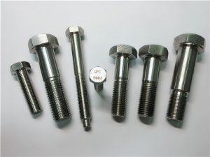No.25-Incoloy a286 шестостенни болтове 1.4980 a286 крепежни елементи gh2132 неръждаема стомана хардуерни винтове