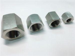No.31-Издръжлив при употреба по поръчка на гайка от неръждаема стомана с шестоъгълна резба