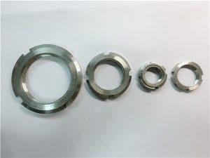 No.33-Китай доставчик по поръчка изработен от неръждаема стомана кръгла гайка