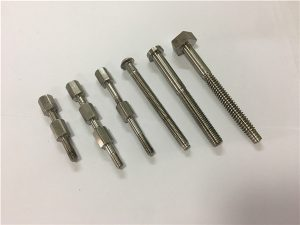 No.41-CNC титаниева машинна част болт и гайка