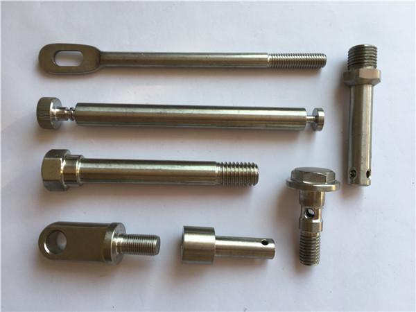 прецизни неръждаеми крепежни елементи cnc завъртащи метални крепежни елементи