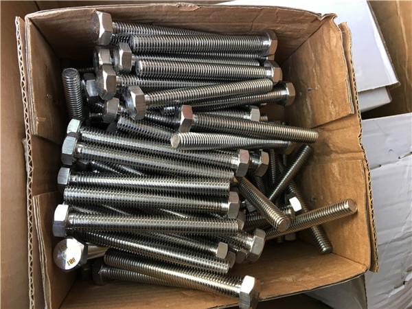 310s / 1.4845 специални крепежни елементи от неръждаема стомана шестостенна шайба с гайка m24 * 80mm
