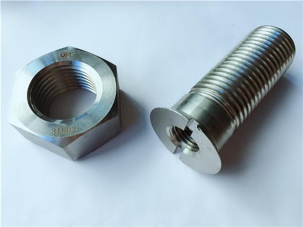 персонализиран болт и гайка от метална хардуерна метална хардуер