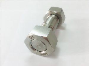 №70-неръждаеми SS 316Ti крепежни елементи