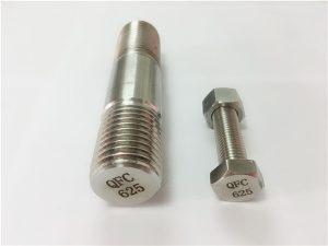 No.71-625 инконелни крепежни елементи в никел