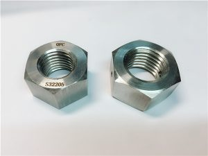 No.76 Duplex 2205 F53 1.4410 S32750 крепежни елементи от неръждаема стомана тежка шестостенна гайка