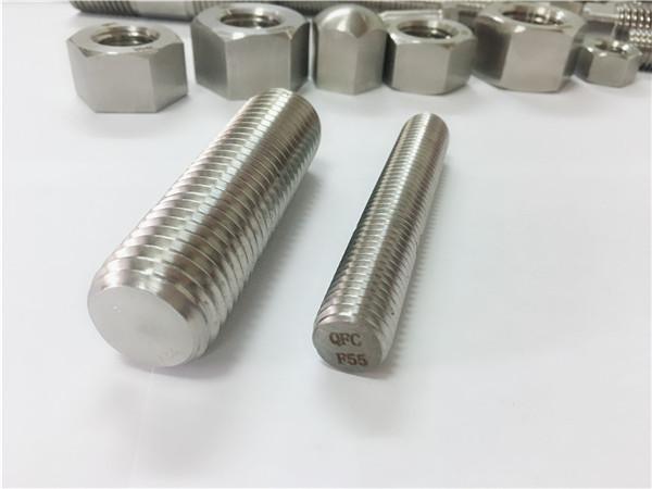f55 / zeron100 крепежни елементи от неръждаема стомана с пълна резба s32760
