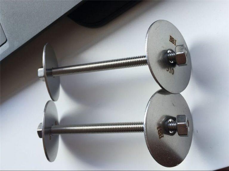 ss310 / ss310s astm f593 закопчалка, болтове от неръждаема стомана, гайки и шайби