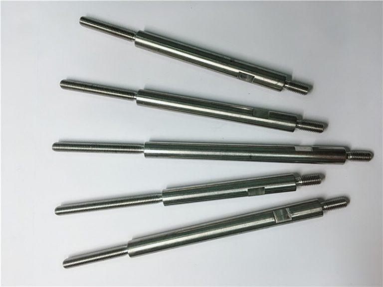 cnc прецизна обработка с резба от неръждаема стомана