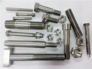 различни видове поръчани медни никелови крепежни елементи