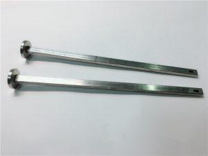доставчик на хардуерни скрепителни елементи 316 неръждаема стомана плоска глава квадратно гърло din603 m4 болт за карета